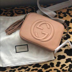 NWT Gucci Soho Small Leather Disco Bag